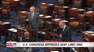 U.S. Congress approves debt limit increase