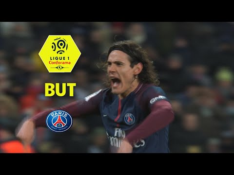 But Edinson CAVANI (55') / Paris Saint-Germain - Olympique de Marseille (3-0)  / 2017-18