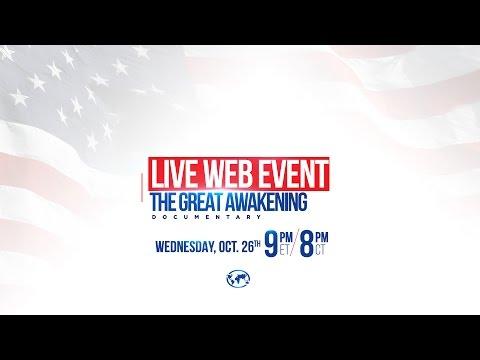 The Great Awakening Documentary: Live Web Event