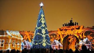Санкт-Петербург площадь новогодние праздник 2019