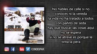 12 - Conde Spaik - Este Es Mi Barrio Ft. Chilenos Mc´s & Dj Seroky (Official Lyric Video)