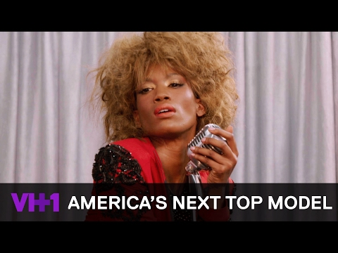 Tash Emulates Tina Turna & Courtney Channels Madonna | America's Next Top Model