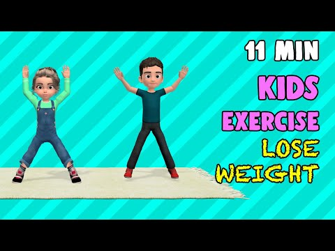11 Min Kids Exercise To Lose Weight Fast
