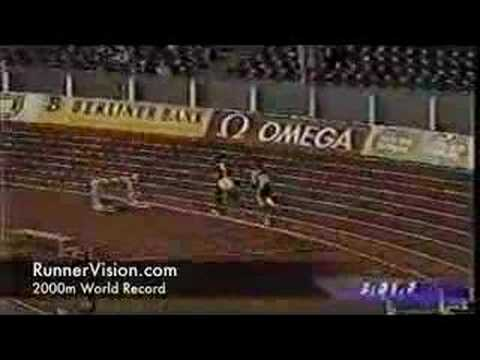 2000m World Record - Hicham El Guerrouj