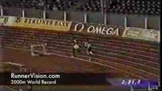 2000m World Record - Hicham El Guerrouj