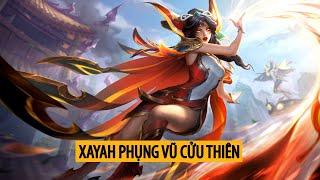 Xayah Phụng Vũ Cửu Thiên ( Brave Phoenix Xayah )