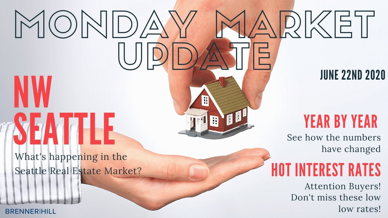 Monday NW Seattle Real Estate Market Update June 22nd, 2020