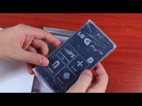 LG G Pro Lite Dual Распаковка