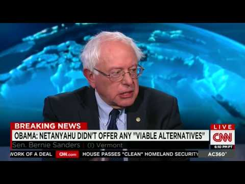 Sanders on Netanyahu's Speech to Congress
