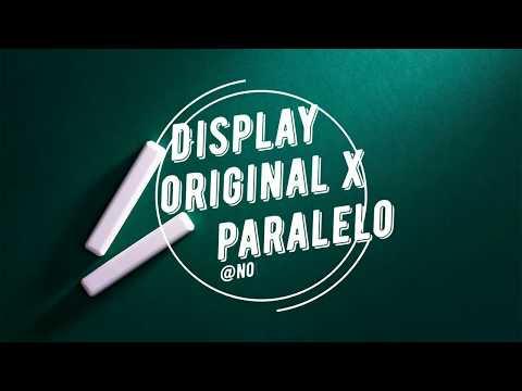 Diferença entre Tela Original x Paralela