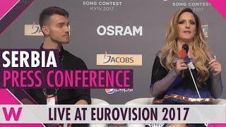 Serbia Press Conference 2 — Tijana Bogićević