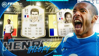 WE PACKED A 91 RATED ICON!! (The Henry Theory #12) (FIFA Ultimate Team)