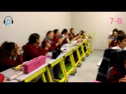 7-B Sınıfı Ile Muammer Sun - Tembel Türküsü'nü Melodika Ve Orff çalgıları Ile çaldık.