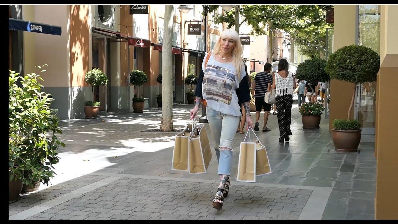 Estúpido mano Chorrito  Krisztina Sereny - vlog 53 - shoping in Madrid Las Rozas designer outlet  village - YouTube