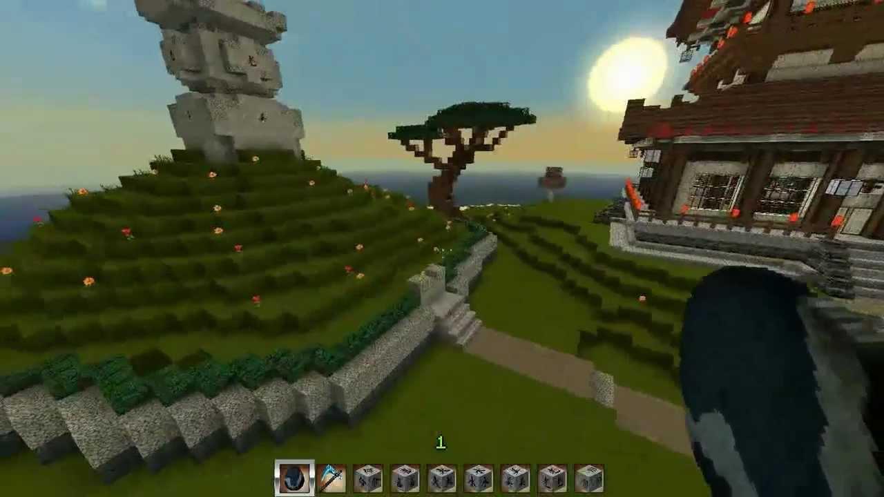 Minecraft Asia: Japanische Pagode Und Mimizuka