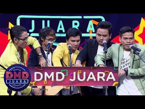 Hebat! Satu Gitar 5 Orang, Xstrada Nyanyiin Lagu Syantik - DMD Juara (20/10)
