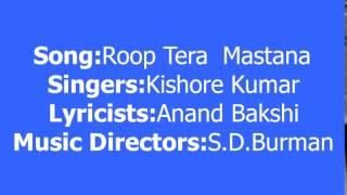 Roop Tera Mastana Video Song || Aradhana - 1969