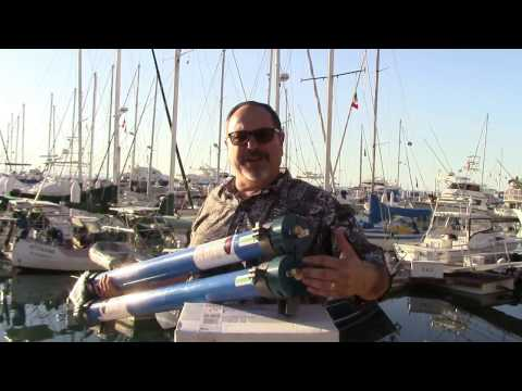 Cruise RO Water Maker Installation Planning: Pressure Vessel and RO Membrane (3 of 6 in Series)