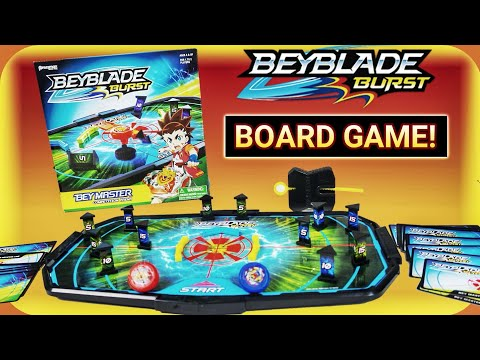 We Found A BEYBLADE BURST BOARD GAME! Beymaster Competition Arena By Pressman Toy