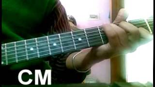learn TUM HO TOH on guitar