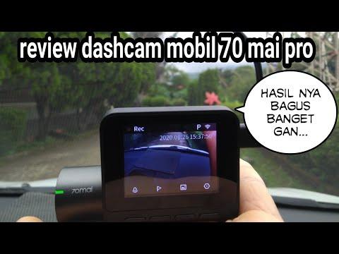 Review Cctv Mobil / Dashcam Mobil Xiaomi 70mai Pro 2020 Indonesia