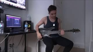 Betraying The Martyrs Lost For Words GUITAR COVER FULL NEW SONG 2016 HD