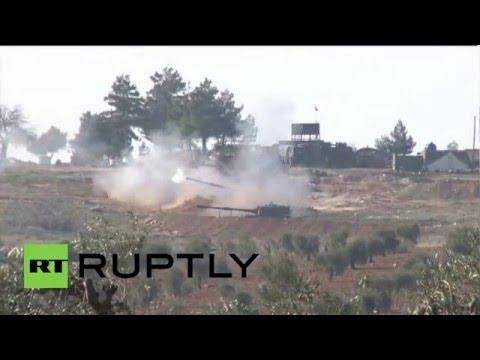 Turkey: Army Howitzers Rain Shells On Kurdish YPG Fighters In Syria