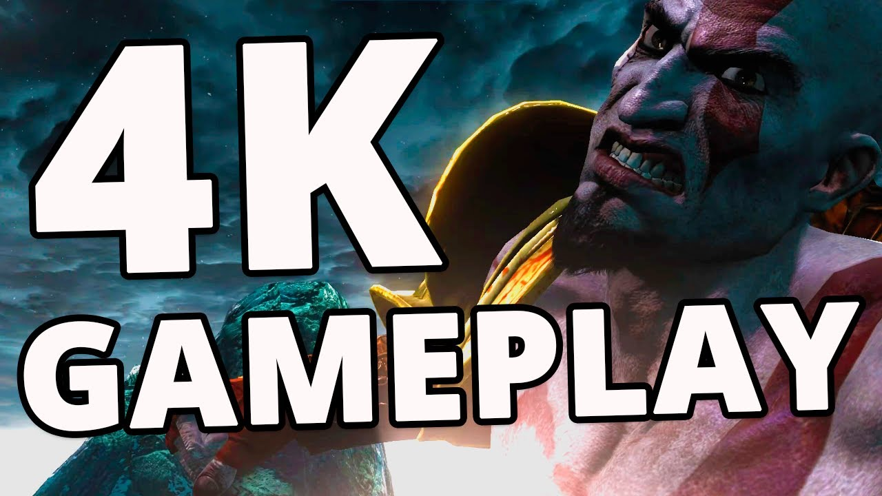 God Of War 3 (RPCS3 MASTER) | KRATOS Vs. POSEIDON Gameplay em 4K 30/60FPS!
