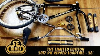 """SE Bikes limited edition 2017 PK Ripper Looptail - 26"""" Unboxing and Build"""