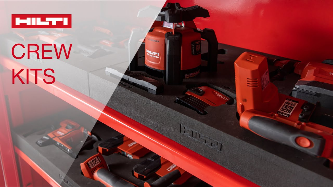 INTRODUCING Hilti Crew Kits  with Account Manager Stephanie Carron
