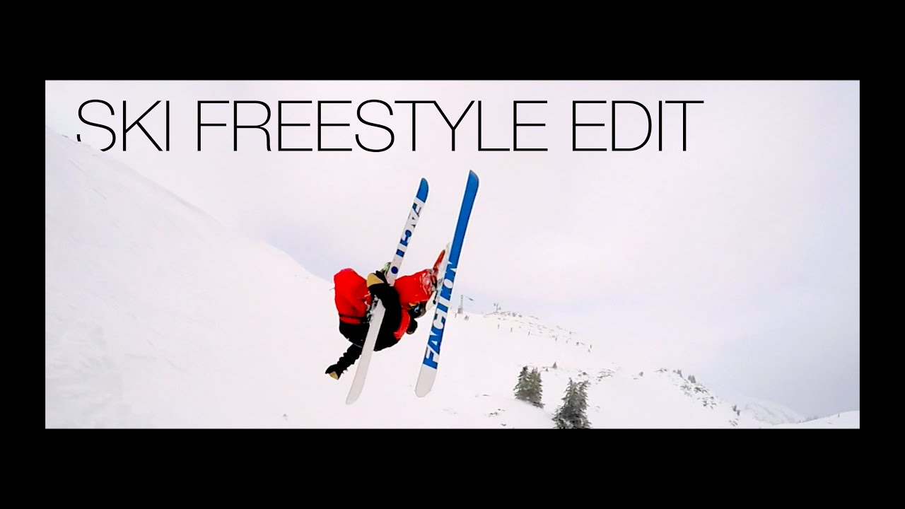 SKI FREESTYLE EDIT 2016 with GoPro Hero 4 - Double Flatspin, Cork, Backflip and others...