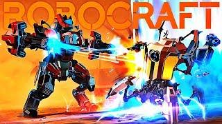 CONSTRUIRE, DÉTRUIRE, GAGNER ! | Robocraft !