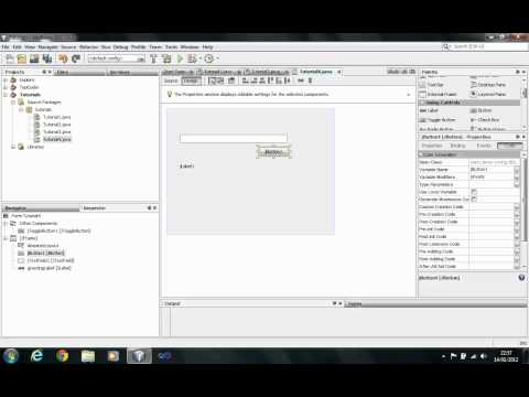 JAVA Tutorial - GUI Part 1: Layouts and Controls - Session 9