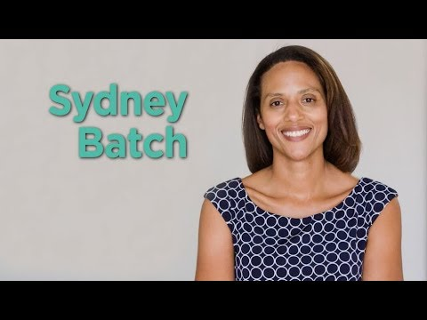 Sydney Batch - District 37, NC House of Representatives