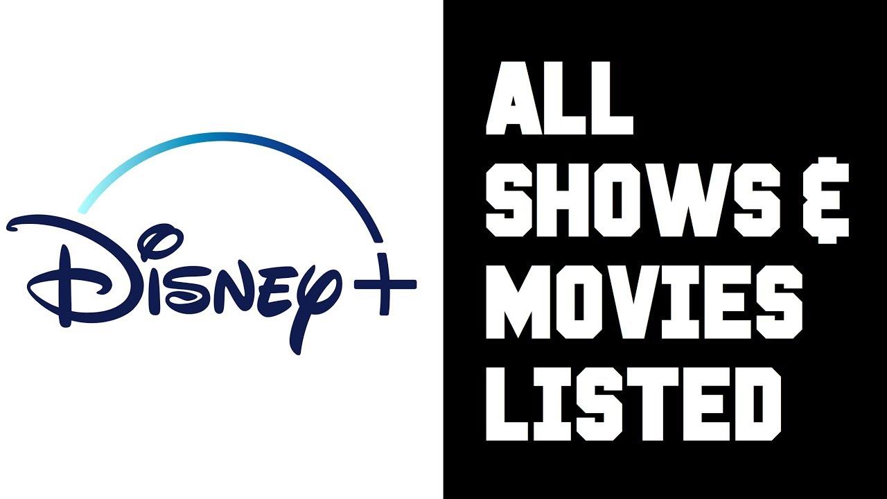 Disney+ Liste