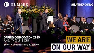 Humber Spring 2019 Convocation - School of Social & Community Services