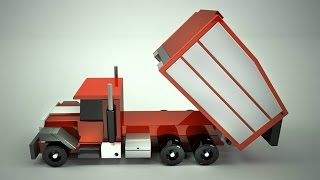 Wood Toy Plans   San Diego Dump Truck