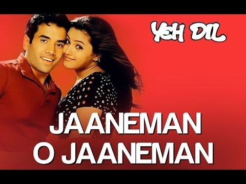 Jaaneman O Jaaneman - Yeh Dil | Tusshar Kapoor & Anita | Tauseef Akhtar & Neeraj Pandit