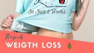 Learn how to lose weight fast without exercise. 2 week diet program.