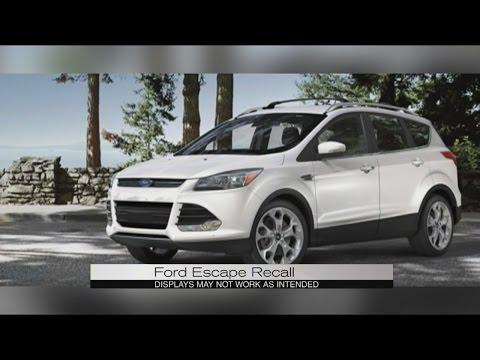 Ford escape recall