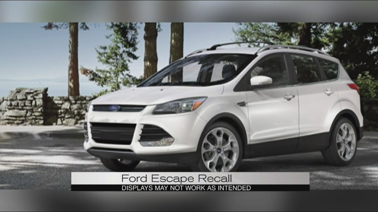 ford escape recall youtube. Black Bedroom Furniture Sets. Home Design Ideas