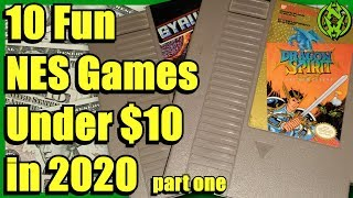 10 Fun Nes Games Under $10 In 2020   Part One | Nefarious Wes