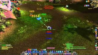 WoW Cataclysm: 82 mage vs 85 dk, ohhh yeah baby !