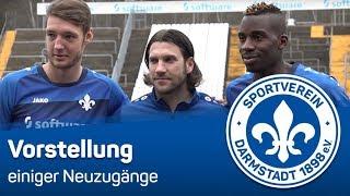Darmstadt 98 | Spielervorstellungen von Banggaard, Kamavuaka & Altintop