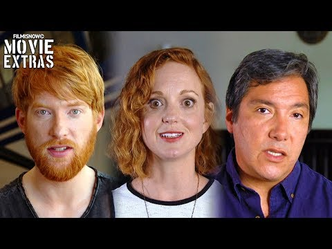 American Made  Onset visit with Domhnall Gleeson 'Monty', Benito Martinez & Jayma Mays
