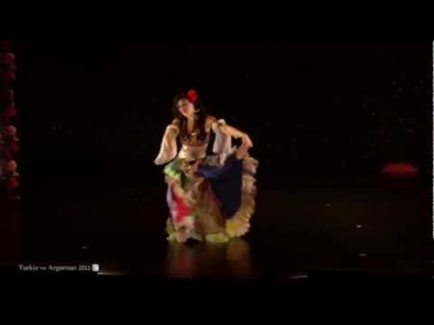 Turkish Gypsy Dance - Roman Havası - Turkiz ve Argaman 2011 - Sophie Armoza