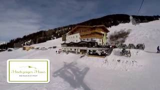 Hochzeiger Haus im Winter