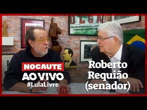 #LULALIVRE: FERNANDO MORAIS ENTREVISTA O SENADOR ROBERTO REQUIÃO