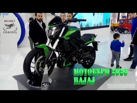 MOTOEXPO 2020 BAJAJ  Yenilenen Dominar Ve Iki Yeni Modeli Ile Fuara Katıldı #bajaj  #2020dominar400