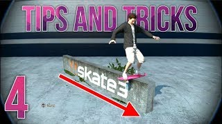 Skate 3 - Park Building Tips And Tricks Ep. 4 (roll ins, thin ledges, spot lights)